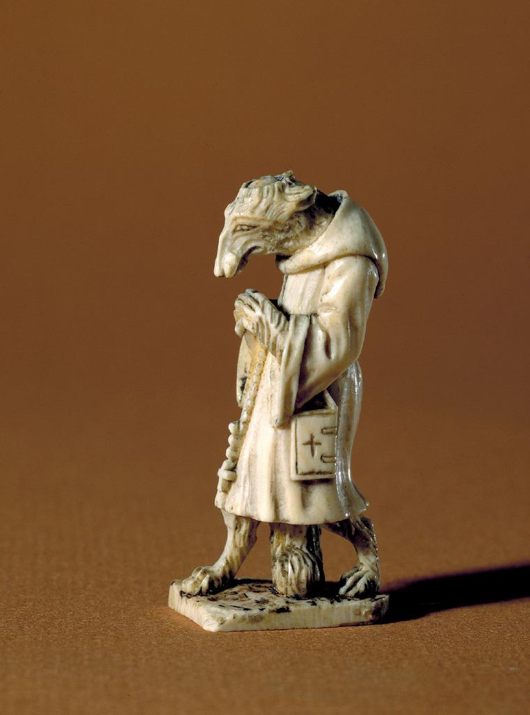 A strange ivory figurine