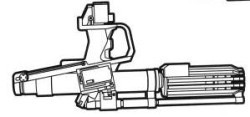 Merr-Sonn Underslung Rotary Blaster Carbine