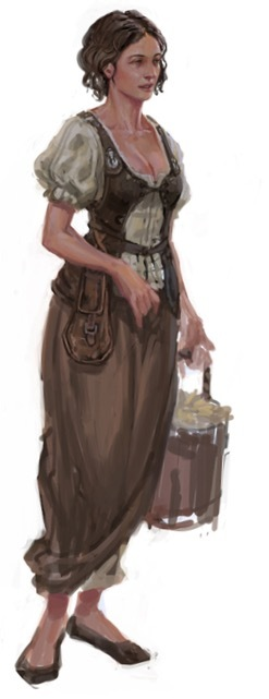 Elsa the Barmaid