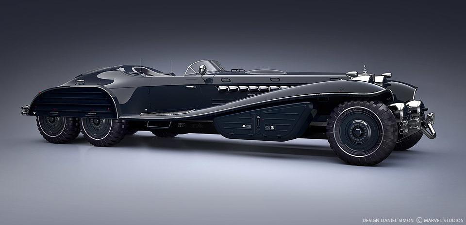 1939 Mercedes-Schmidt V18 Limo