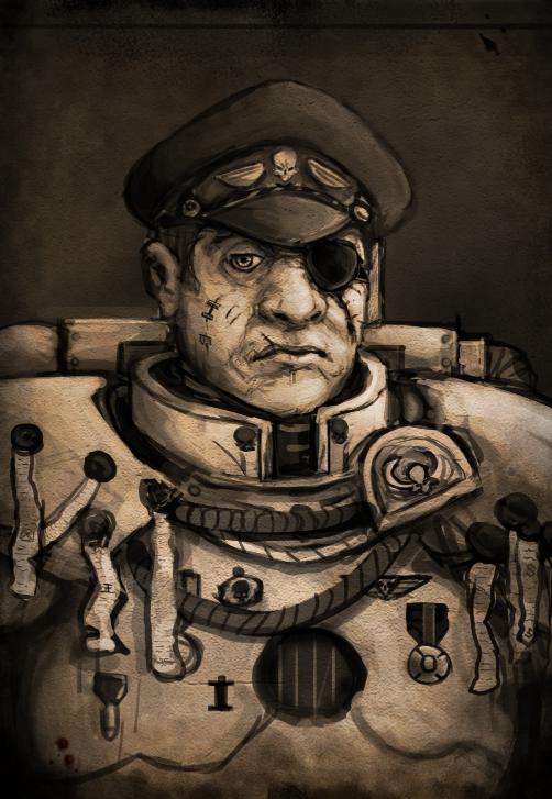 Captain-Warden Richolf Woltz