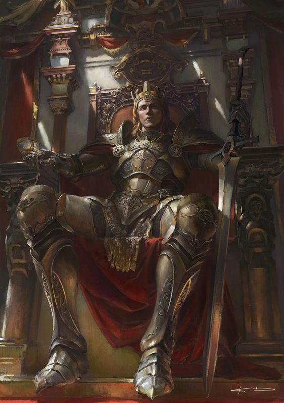 His Royal Highness Thomas Starhewen (The Manticore King)