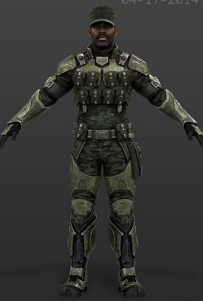 Standard Issue Combat Armor