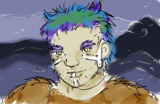 Vort, Human Barbarian of the Asimba Hills