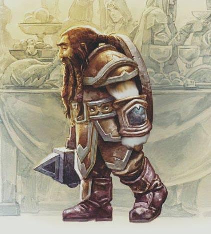 Dagon Ironvein - Dwarf Barbarian