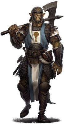 Yaup, Half Orc War Cleric of Kord