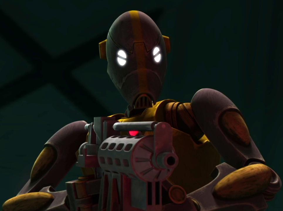 BX-Series Droid Commando Captain