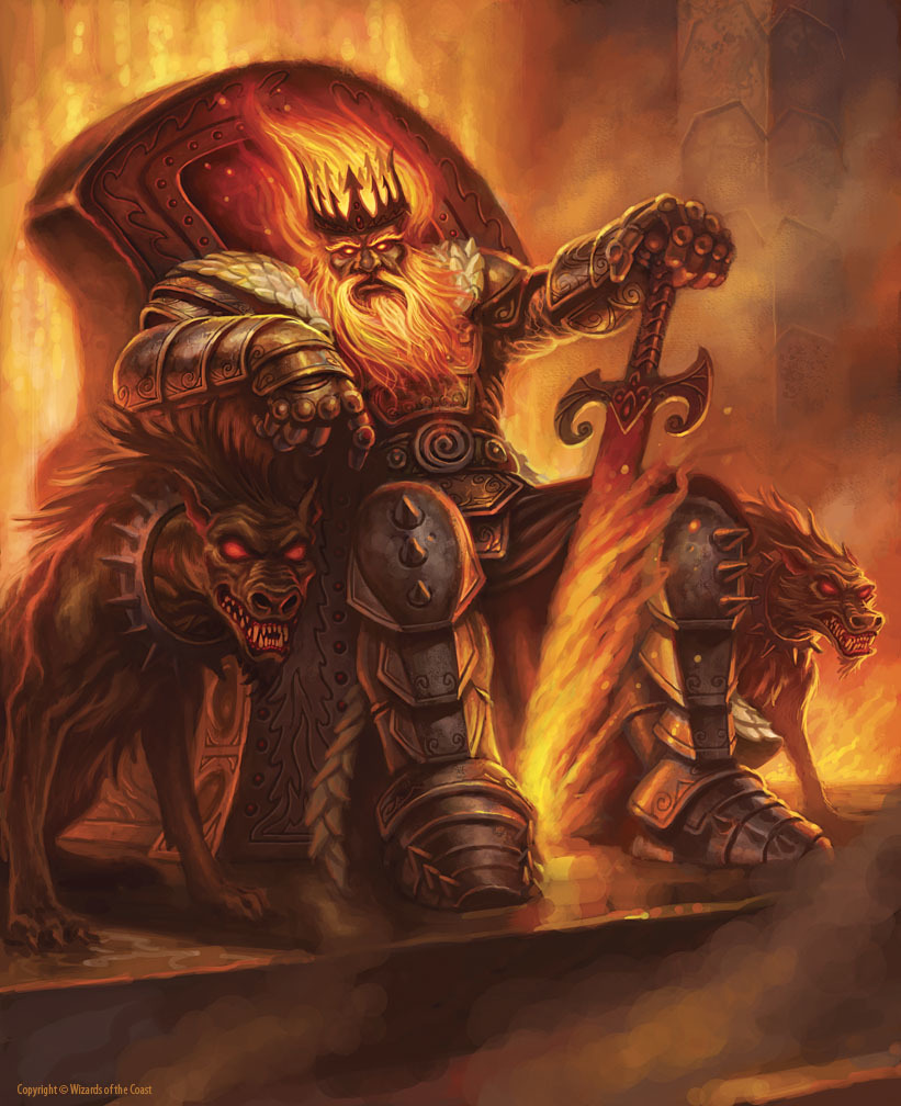 Argon, Lord of the Fire Giants