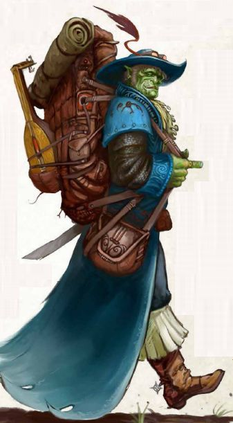 Sporck the Half-Orc Bard