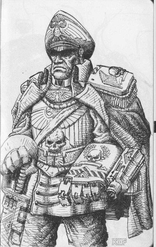 Lord Commissar Fist