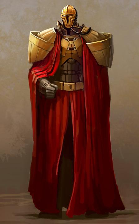 Mandalor (Galor), Commandant des Mandaloriens