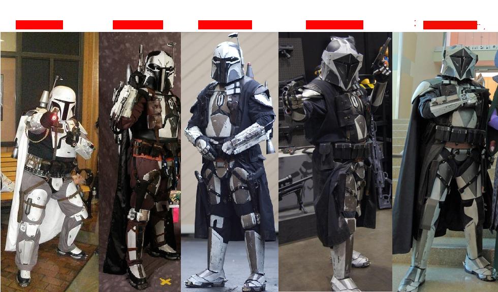 Armures Mandaloriennes