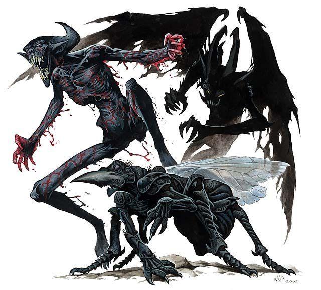 Demon Type 2 in Doom Portal