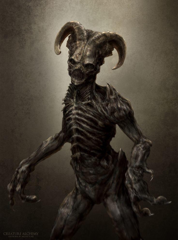 Demon Type 4 in Doom Portal