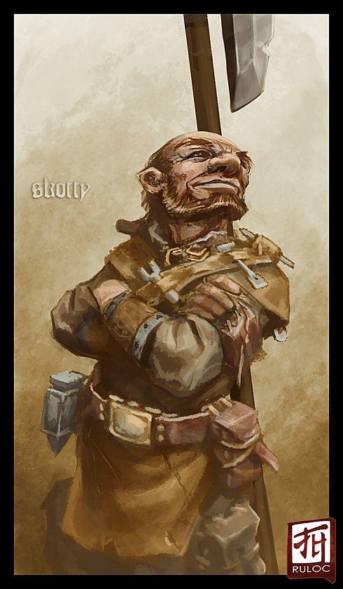 Smyth, The Halfling Miner
