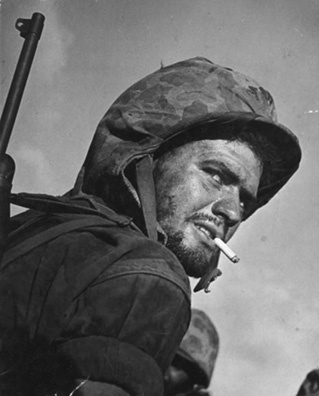 WWII Marine Sergeant Albert 'Al' Zabloski