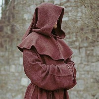 Silent Robed Figure