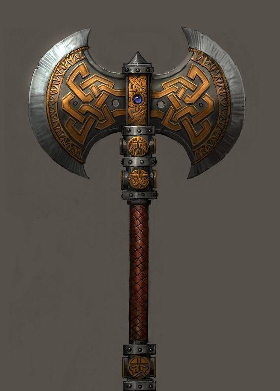 Glorychuck - The Battle Axe of Uthgar +1