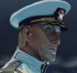 Rear Admiral Joseph Hammers