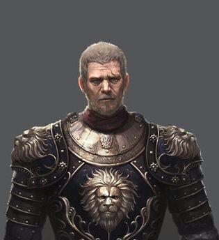 Syr Leobold (Luitbald) Greatmane, the Long Claw.