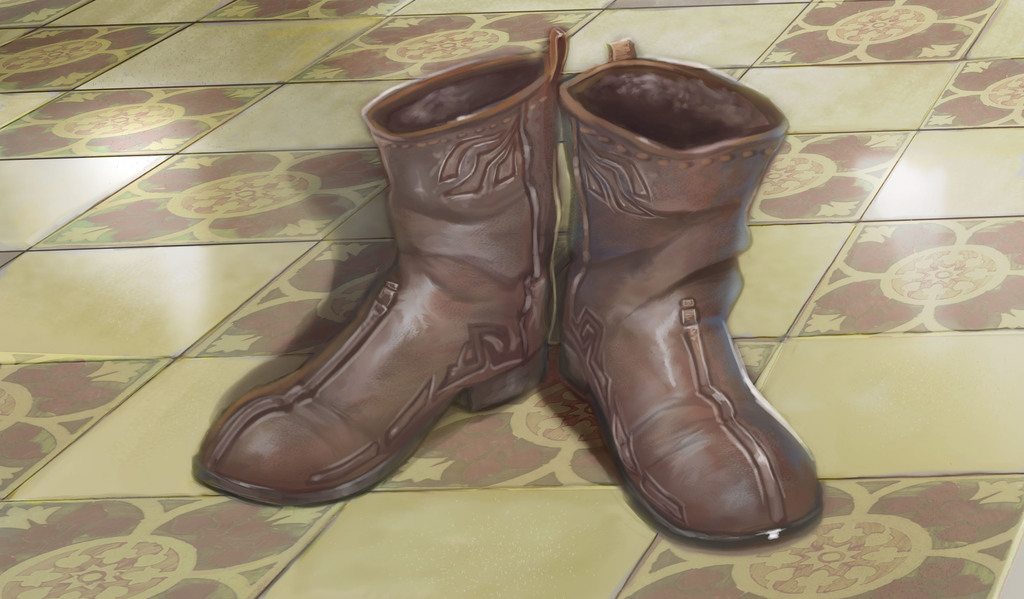 Boots of Dannus the Sly