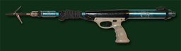 Blaster speargun