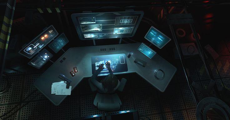 Computer Station
