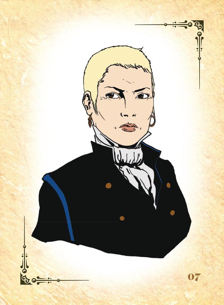 Леди Инспектор Маргарет Саксби