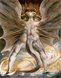 William Blake The Great Red Dragon