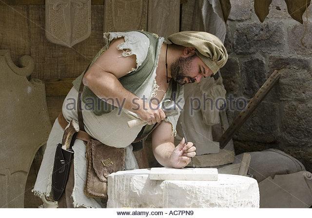 Luca della Cava the Stonemason