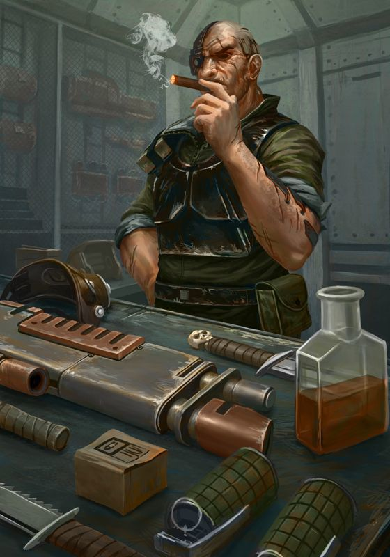 Master Sergeant Krax Devlan