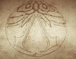 Strange Symbol Card