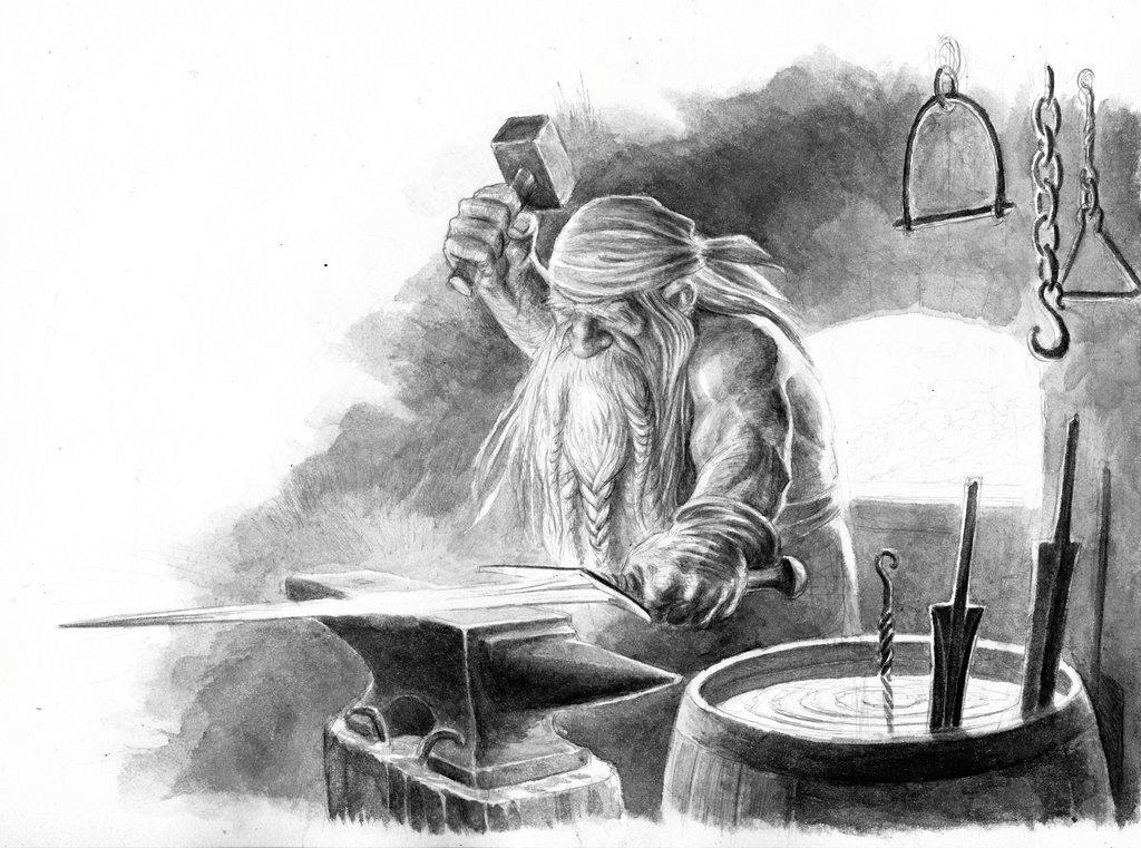 """Rudrik Barthynn A.K.A. """"Roger"""" the dwarf"""