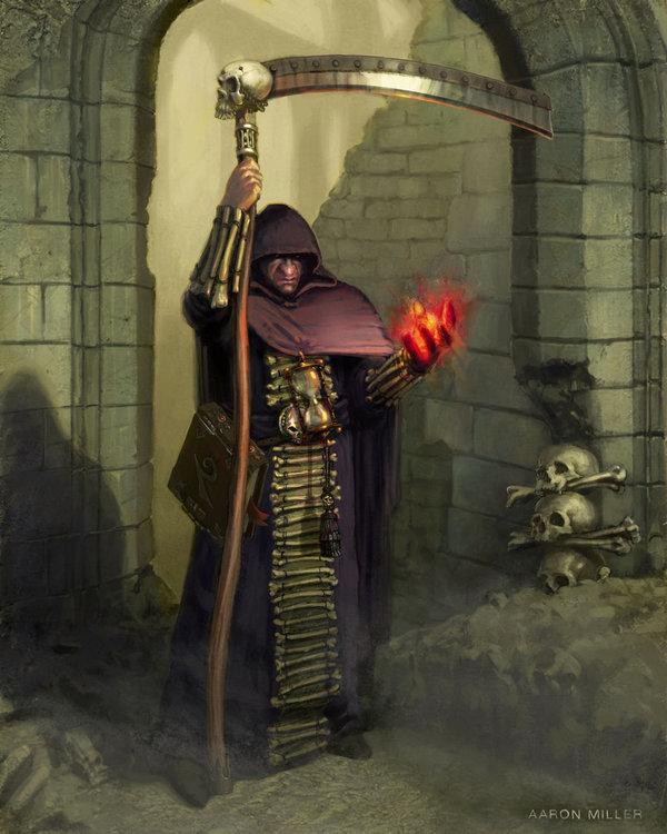 Lassader, Mercenary Necromancer