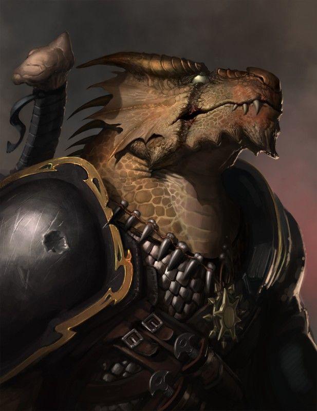 Ormarr - Dragonborn