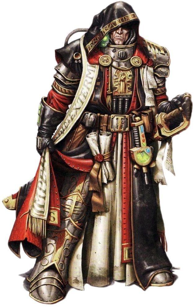 Inquisitor Hadrax Ishmael Ignacio Jachobein IV