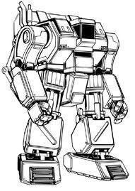 "BC-XV ""Buster"" HaulerMech"