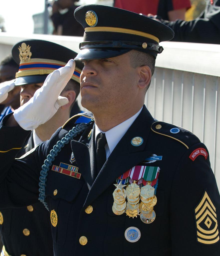 First Sergeant Aaron Matthews