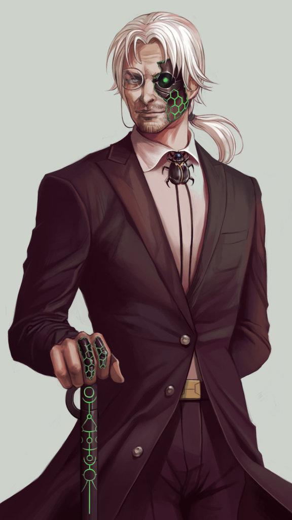Inquisitor Lucius Drake