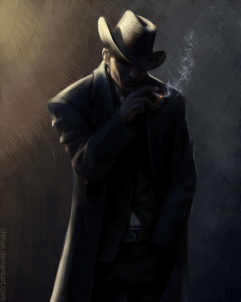 Detective John Crystal