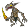 Pukey The Kobold Zombie