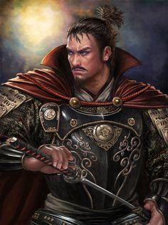 """Lord Magni Nobunaga """"Capitan de la guardia real"""""""