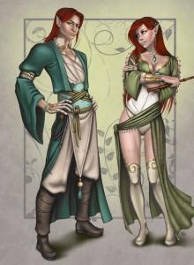 Aerell & Aezell Elendriel