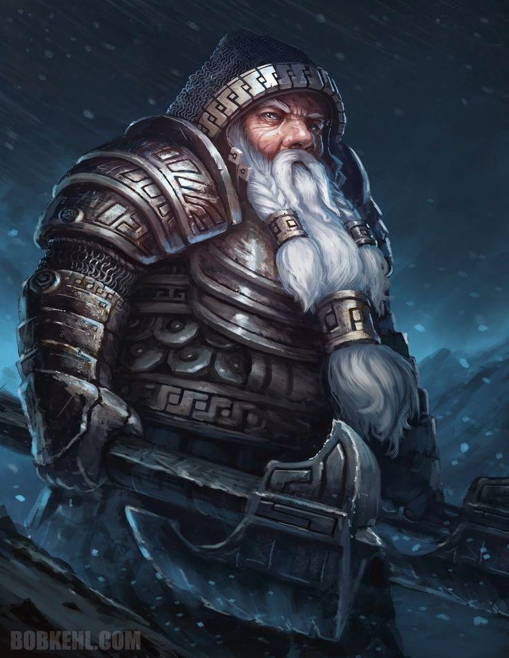 Greybeard - Mr. Traven Stoutbeard