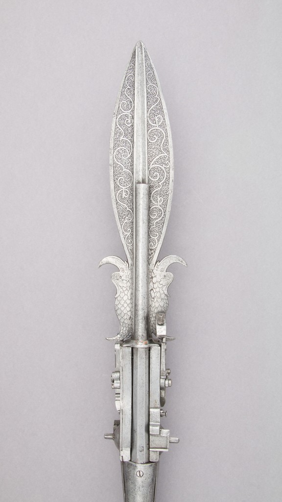Alfred's White Silver Boar Spear