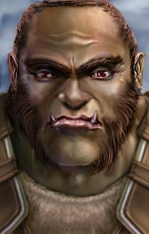 Gunner Rex, the Mighty Berserker Hero