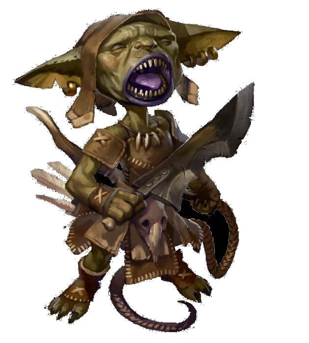 Rick, the dead goblin