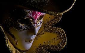 Figura de la máscara Veneciana