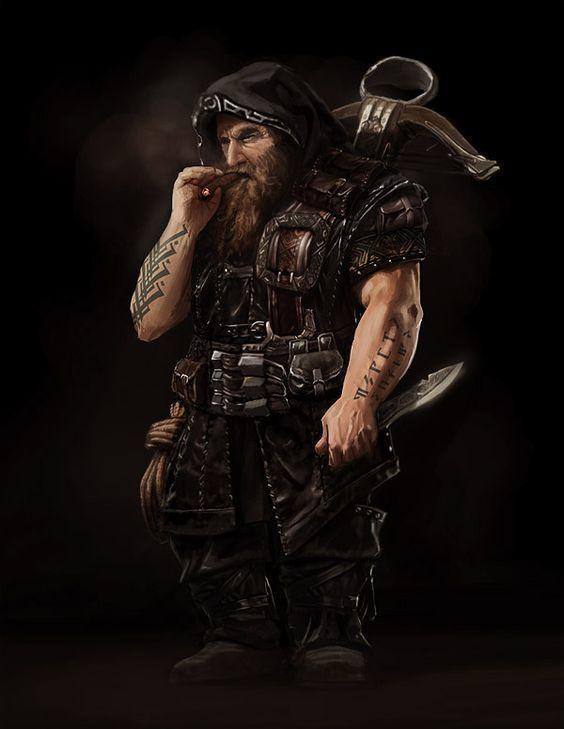 The Dwarf Fighter