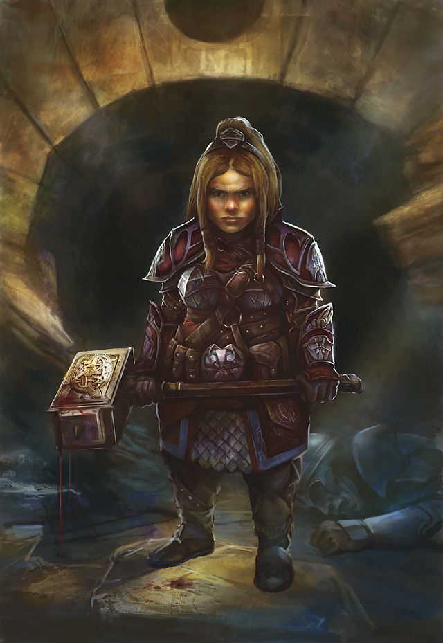 Lady Magstein Battlebeard